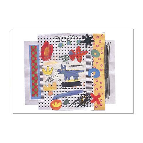 Takeshi Koezuka Postcard