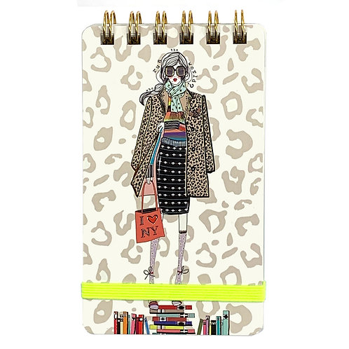 VERRIER HANDCRADATED MINI NOTEBOOK/WHO RUN THE WORLD