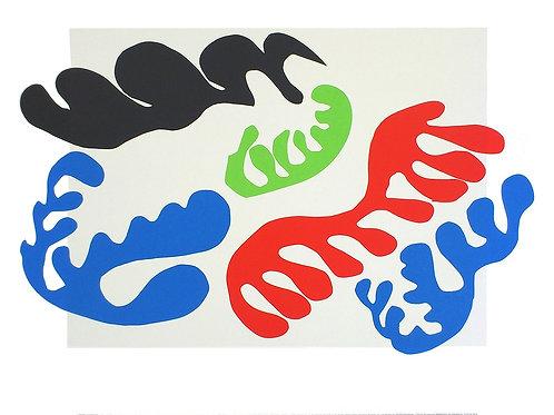 LE LAGON/JAZZ 19 / Henri Matisse