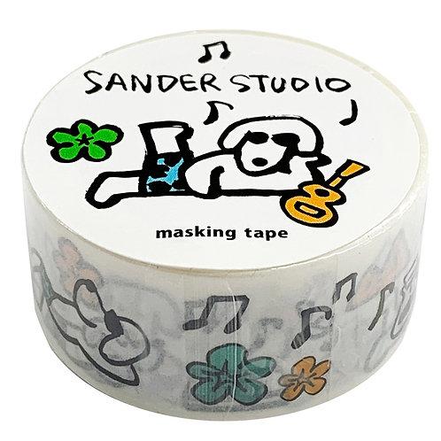Sander Studio / Masking Tape / Outdoor