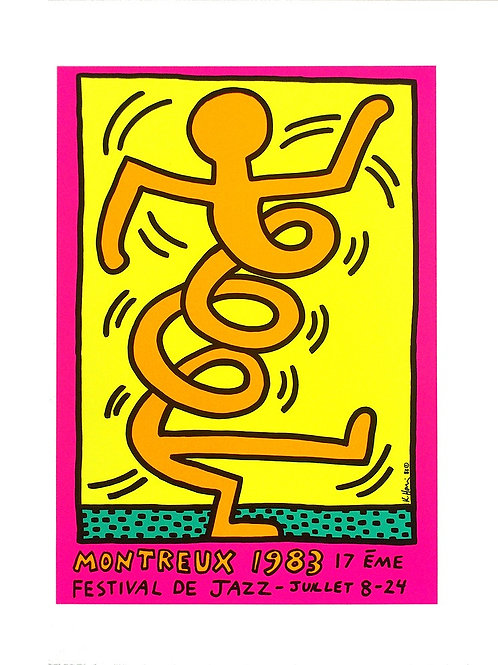 MONTREUX 1983 17ÉME FESTIVAL DE JAZZ-JUILLET 8-24 / Keith Haring