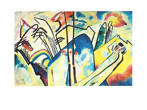 CONPOSITION 4 / Wassily Kandinsky
