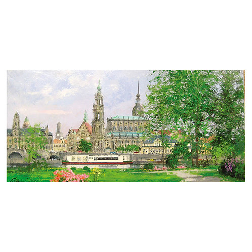 Morning in Dresden
