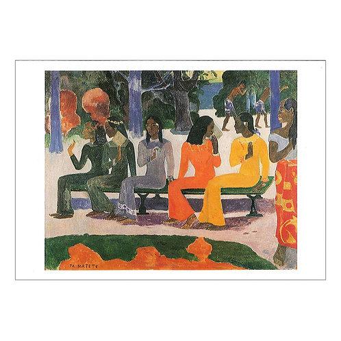 Paul Gauguin Postcard