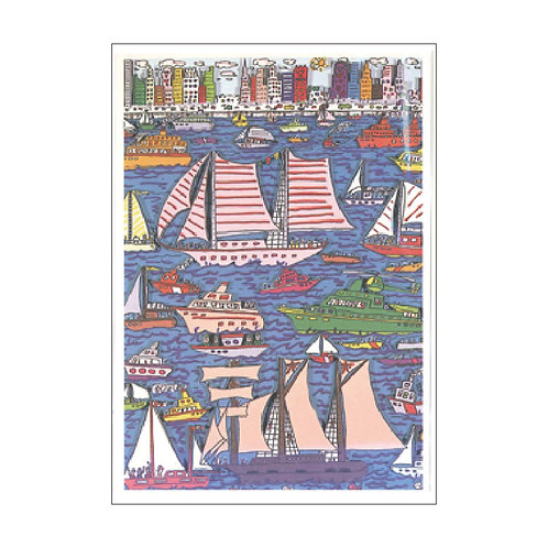 James Rizzi Postcard PC-421