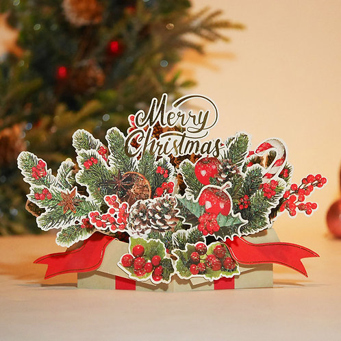 HOLIDAY POP UP CARD/GIFT