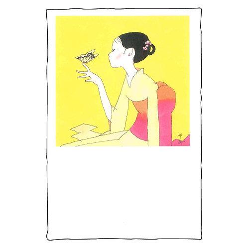 Seiichi Hayashi Postcard