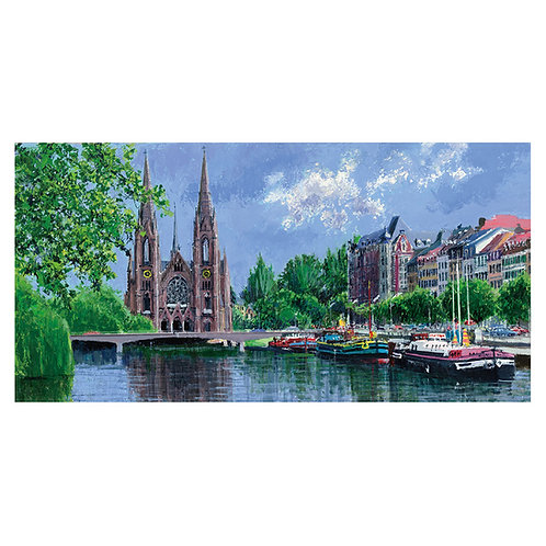 Waterside in Strasbourg