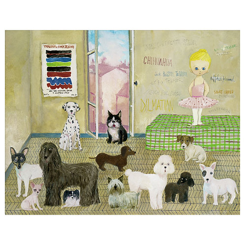 GThe Room where the Dog is