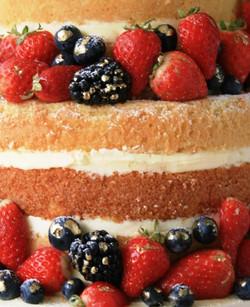 Naked Wedding Cake det 1