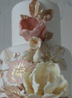 Golden Floral