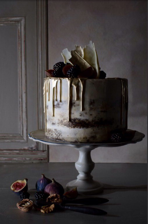 Ginger Naked Cake main