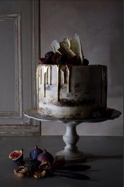 Ginger Naked Cake main