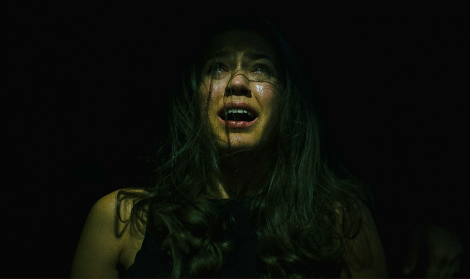 Katharina as Sophie (lead) in 'Dinner für Acht' (Dinner for Eight)