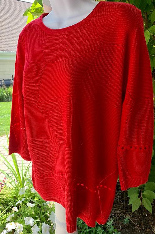 Geometric Pattern Sweater