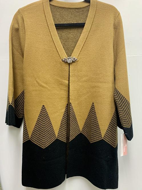 Geometric Patterned Cardigan
