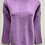 Thumbnail: Solid Color Sweater w/ Knitted Pattern