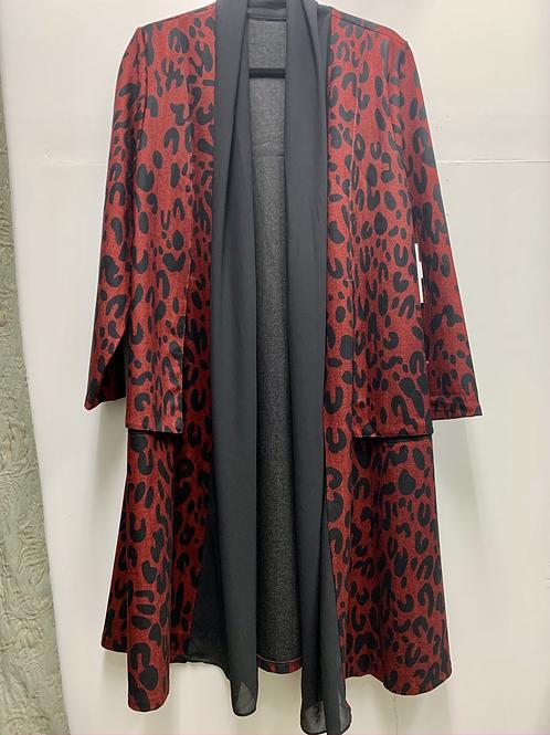 Cheetah Print Cardigan