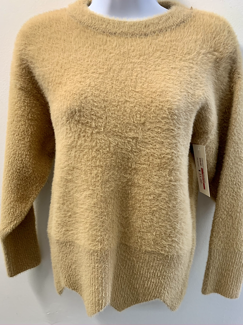 Cashmere Blended Sweater w/ Diamond Cut-out