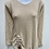 Thumbnail: V-Neck Sweater w/ Bow-tie Accent