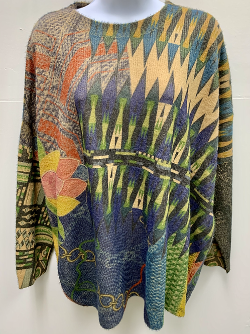 Abstract Pattern Sweater