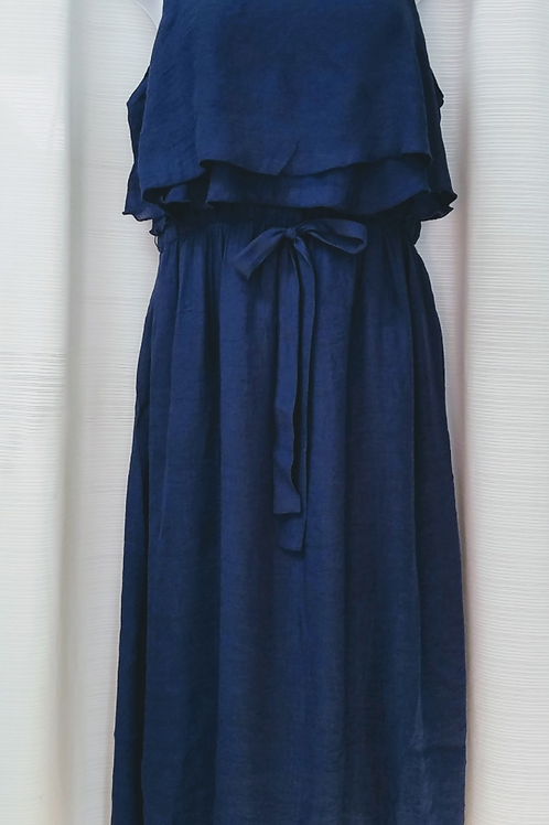 T/R Slub Solid Colors Dress.