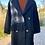 Thumbnail: Plaid Patch w/ Tassels Fashion Coat
