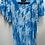 Thumbnail: V-Neck Blouse w/ Embrodered Sleeve