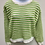Thumbnail: Three-Colored Cropped Sweater