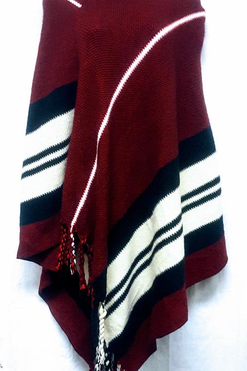 Fashion Poncho w/ Hood