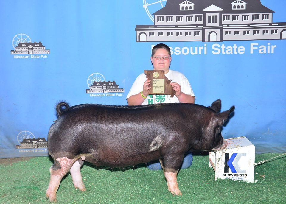 Reserve Champion 4H Berk Gilt