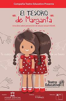 Obra teatral infantil educativa que trata el auto cuidado del cuerpo y la prevención del abuso sexual infantil.