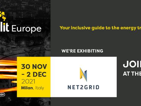 Meet NET2GRID at Enlit 2021 in Milan