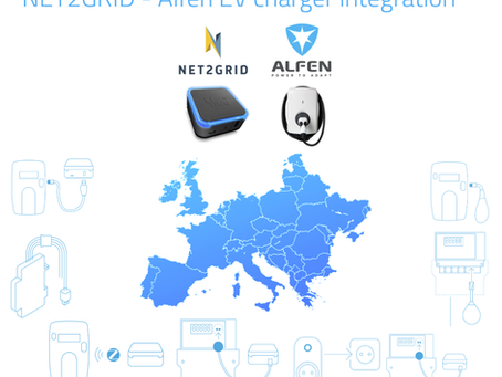 NET2GRID has integrated its residential smart energy platform with Alfen EV chargers
