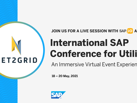 NET2GRID to present at the SAP Conference for Utilities on May 20th