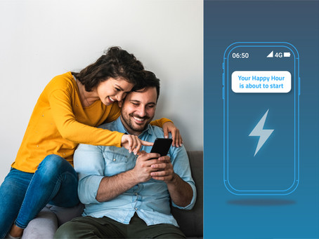 Energy Happy Hour: A loyalty booster for enviaM's customers