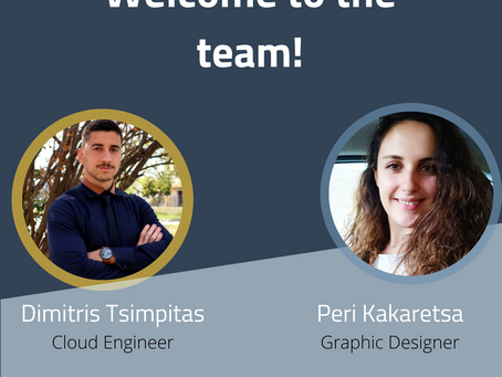 NET2GRID welcomes new #FACES, Peri and Dimitris