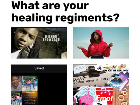 What are your Healing Regiments