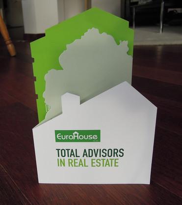 Eurohouse real estate leaflet