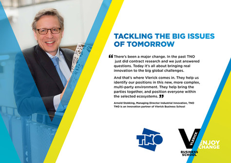 Enjoy Change campaign - TNO for Vlerick