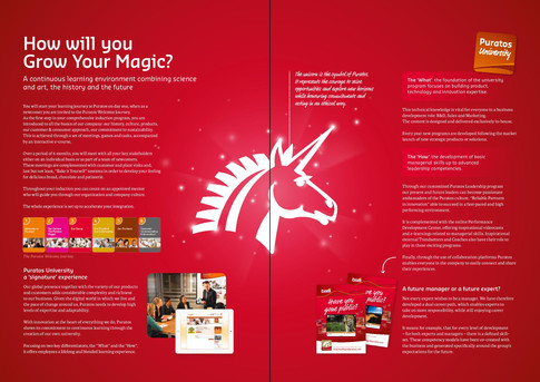 Puratos HR brochure pages 4 and 9 (gatefold)