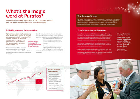 Puratos HR brochure - pages 2 and 3