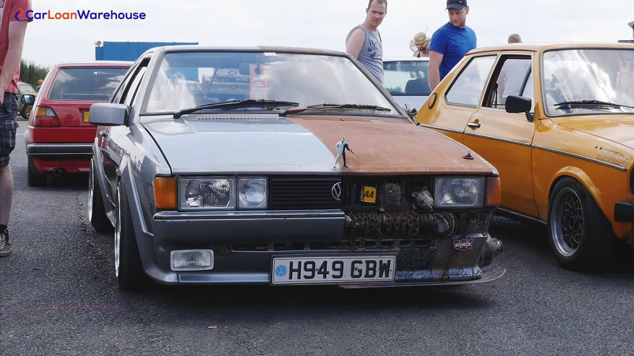 Have you ever seen a Scirocco like this?
