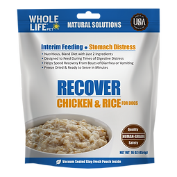 Recover Chicken & Rice Food for Dogs fro