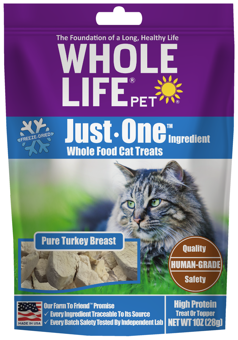 Whole Life Pet Just One Ingredient Turkey Cat Treats