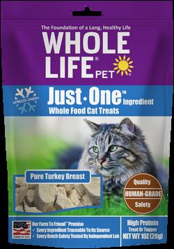 Whole Life Pet Just One Ingredient Turkey Cat Treats