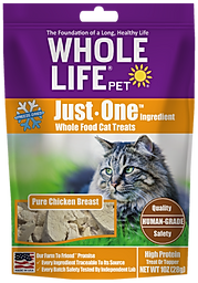 Whole Life Pet Just One Ingredient Chicken Cat Treats