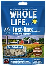 Whole Life Pet Just One Ingredient Turkey Dog Treats