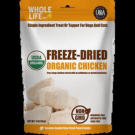 Freeze Dried Organic Chicken