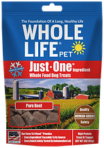 Whole Life Pet Just One Ingredient Beef Dog Treats
